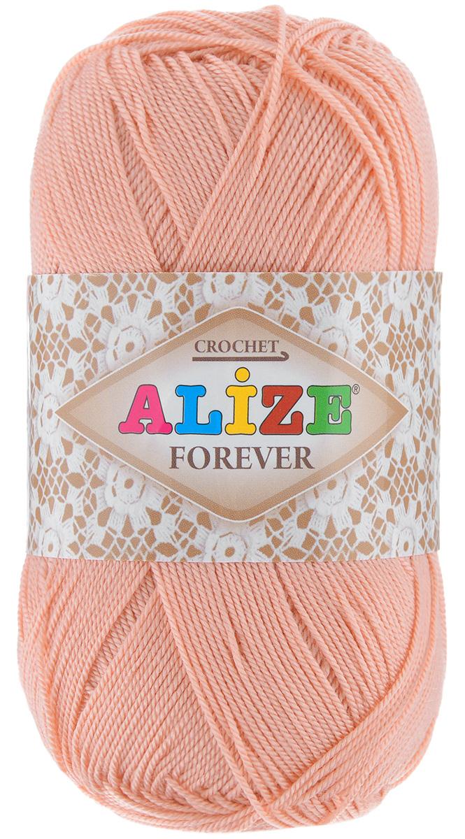 Пряжа для вязания Alize Forever, цвет: пудра (144), 300 м, 50 г, 5 шт367022_144Alize Forever - это тщательно обработанная акриловая пряжа, которая приобретает вид мерсеризованной нити. Классическая пряжа, прочная, мягкая и шелковистая. Большое разнообразие цветов и оттенков от спокойных до ярких позволять подобрать пряжу для вязания на любой вкус. Предназначена для вязания летних и весенних вещей и прекрасно подойдет как для спиц, так и для крючка. Изделия получаются очень красивыми и нарядными внешне и при этом комфортными в носке. Рекомендованные спицы: 2-3,5 мм. Рекомендованный крючок: 0,75-1,5 мм. Состав: 100% акрил.
