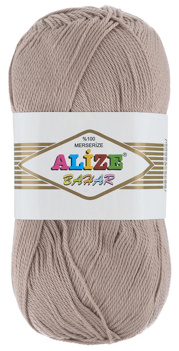 Пряжа для вязания Alize Bahar, цвет: бежевый (05), 260 м, 100 г, 5 шт364089_05Пряжа Alize Bahar подходит для ручного вязания детям и взрослым. Пряжа однотонная, приятная на ощупь, хорошо лежит в полотне. Изделия из такой нити получаются мягкие и красивые. Рекомендованные спицы 3-5 мм и крючок для вязания 2-4 мм. Состав: 100% хлопок.