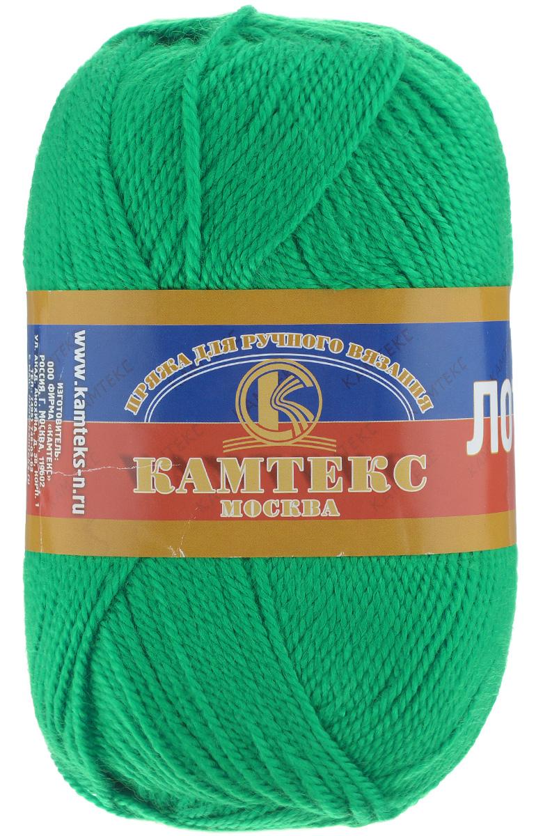 Пряжа для вязания Камтекс Лотос, цвет: трава (044), 300 м, 100 г, 10 шт136083_044Пряжа для вязания Камтекс Лотос изготовлена из 100% акрила. Пряжа имеет приятную мягкость, вяжется очень легко, совершенно не путаясь. По своим свойствам акриловая нить близка к шерсти. Только в отличие от шерсти, она приятна для тела, совсем не колется, не раздражает кожу, подходит даже для детей. Существует вероятность, что изделие может слегка растянуться, но этого можно избежать деликатным обращением и плотной вязкой. Пряжа Лотос подходит для вязания и крючками, и спицами, хорошо получаются любые виды узоров. Идеальный вариант для вязания демисезонных головных уборов, жакетов, свитеров, болеро, детской одежды. Пряжа имеет приятный благородный блеск. Богатая цветовая палитра, смелые и насыщенные оттенки. Рекомендуемый размер крючка и спиц: №3-5. Состав: 100% акрил. Толщина нити: 1,5 мм.