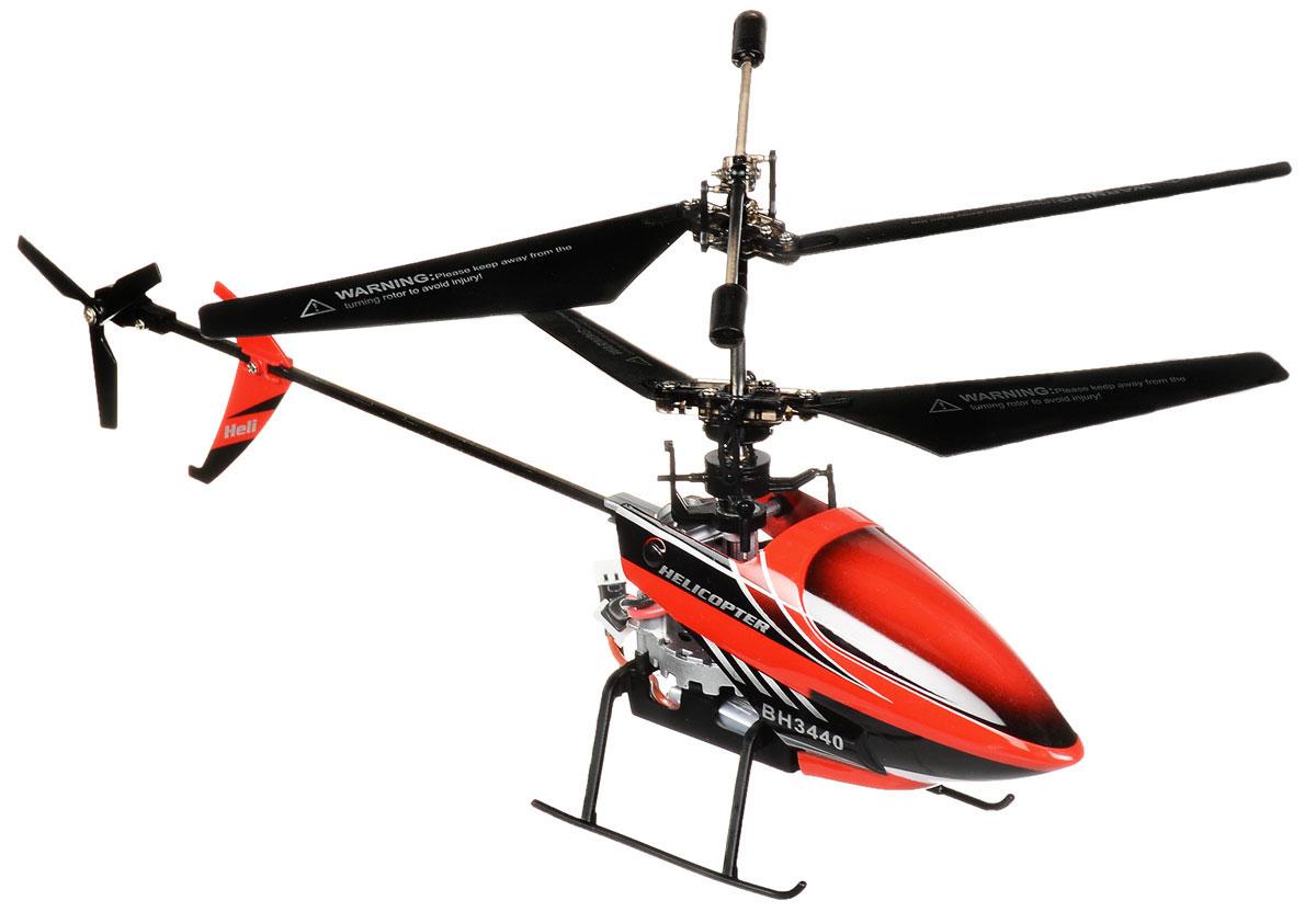 Властелин небес Вертолет на радиоуправлении Непоседа цвет красный черныйBH 3440redВертолет Властелин небес Непоседа c инфракрасным управлением и встроенным гироскопом отлично подходит для интересного времяпровождения как ребенка, так и взрослого человека. Гироскоп предназначен для курсовой стабилизации полета. Вертолет небольшой и маневренный, он легко обходит препятствия, послушно следуя командам c пульта управления. Игрушка может летать вперед-назад, вверх-вниз, вращаться и зависать в воздухе. Вертолет оснащен проблесковыми огнями для полета в темноте. Имеется возможность подзарядки вертолета от пульта и USB-шнура. Полностью заряженный вертолет летает 7-8 минут. Игрушка развивает многочисленные способности ребенка - мелкую моторику, пространственное мышление, реакцию и логику. Вертолет работает от встроенного аккумулятора, который можно заряжать от USB-шнура (входит в комплект). Для работы пульта управления необходимо докупить 4 батарейки напряжением 1,5V типа АА (в комплект не входят). Материал: металл, полимерные материалы,...