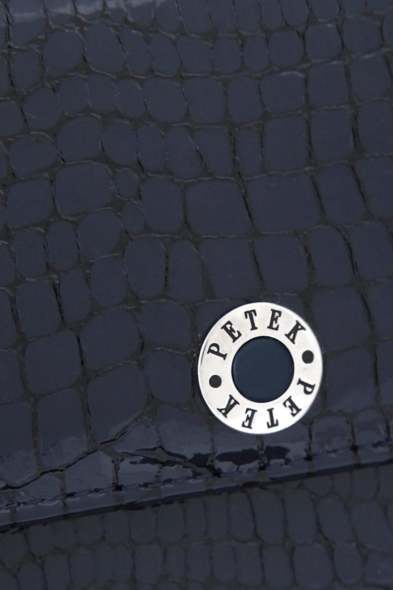 Портмоне женское Petek 1855, цвет: темно-синий. 301. 091. 08
