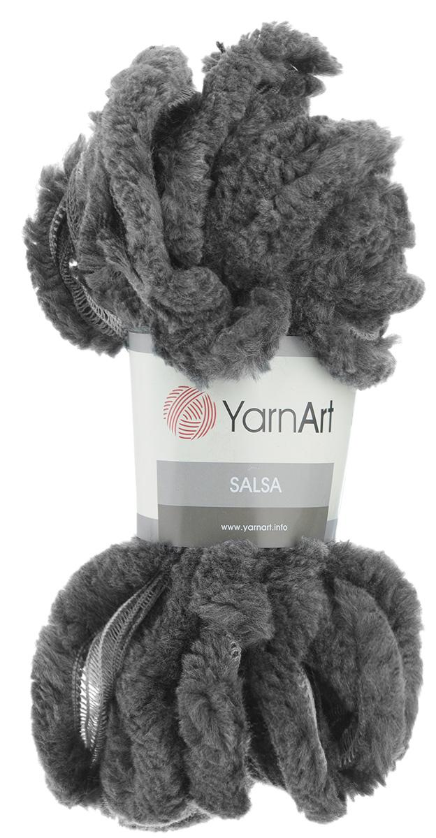 Пряжа для вязания YarnArt Salsa, цвет: серый (253), 7 м, 125 г, 4 шт694748_253Пряжа для вязания YarnArt Salsa - фантазийная ленточная пряжа, в состав которой входит акрил. Пряжа представляет собой широкую ленту с меховым краем с одной стороны. Прекрасно подойдет для вязания шарфов, аксессуаров, а также для отделки изделий. С такой пряжей вы можете быстро и не дорого сделать подарок своими руками для родных и близких людей. Рекомендованы спицы 8 мм. Состав: 100% акрил.