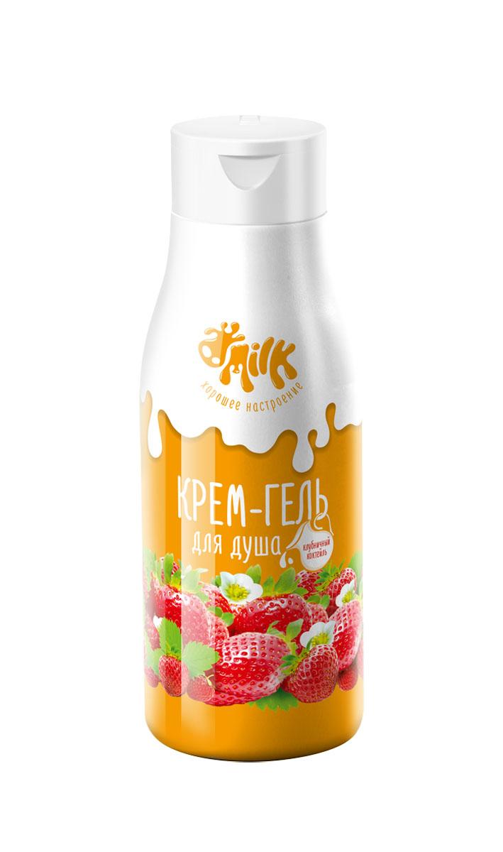 Milk Крем-гель для душа Клубничный коктейль, 500 мл