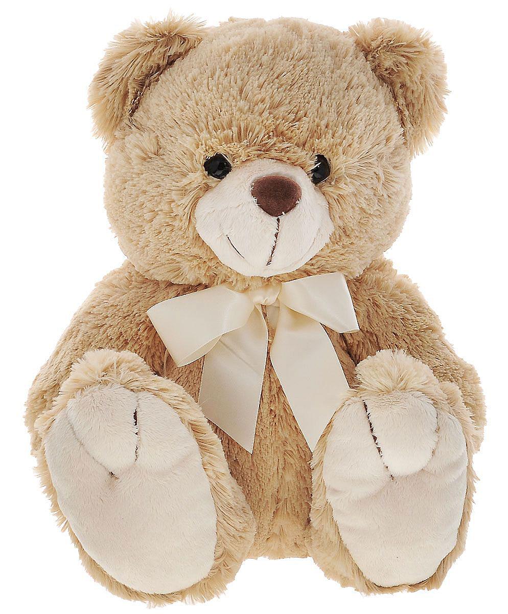 Plush Apple Мягкая игрушка Медведь цвет бежевый молочный 24 см2063265_бежевый, молочныйМягкая игрушка Plush Apple Медведь станет лучшим другом для любого ребенка. Игрушка изготовлена из безопасных, приятных на ощупь текстильных материалов в виде сидячего медвежонка с атласным бантиком на шее. Удивительно мягкая игрушка принесет радость и подарит своему обладателю мгновения нежных объятий и приятных воспоминаний. Порадуйте ребенка такой игрушкой.