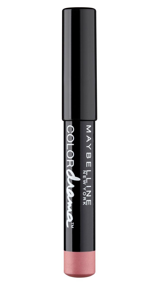 Maybelline New York Помада-Карандаш для губ Color Drama, кремовая, оттенок 140, Жемчужный персиковый, 6 грB2860401Помада-карандаш для губ Color Drama обеспечивает стойкий, яркий, насыщенный оттенок. Благодаря кремовой текстуре не сушит губы.