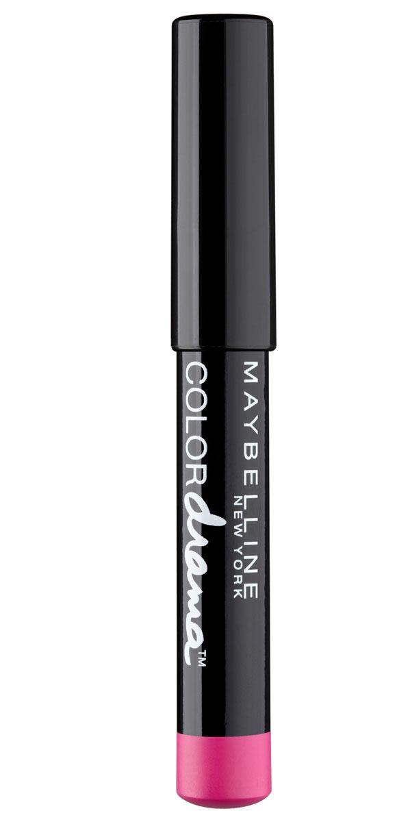 Maybelline New York Помада-Карандаш для губ Color Drama, кремовая, оттенок 150, Чувственная фуксия, 6 грB2860501Помада-карандаш для губ Color Drama обеспечивает стойкий, яркий, насыщенный оттенок. Благодаря кремовой текстуре не сушит губы.