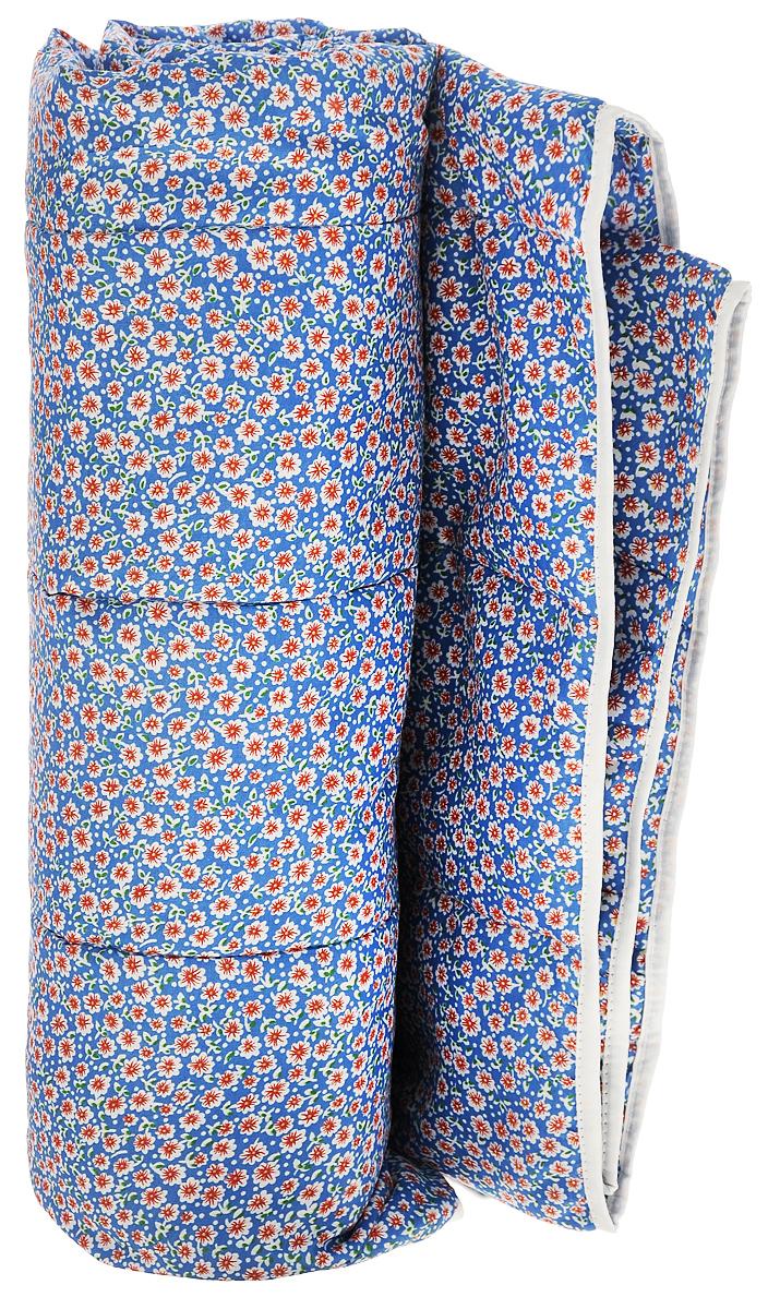 Одеяло летнее OL-Tex Miotex, наполнитель: полиэфирное волокно Holfiteks, цвет: синий, белый, красный, 140 см х 205 смМХПЭ-15-1_синий, мелкие цветыЛетнее одеяло OL-Tex Miotex создаст комфорт и уют во время сна. Стеганый чехол выполнен из полиэстера и оформлен красочным рисунком. Внутри - наполнитель из полиэфирного высокосиликонизированного волокна Holfiteks, упругий и качественный. Холфитекс - современный экологически чистый синтетический материал, изготовленный по новейшим технологиям. Его уникальность заключается в расположении волокон, которые позволяют моментально восстанавливать форму и сохранять ее долгое время. Изделия с использованием Холфитекса очень удобны в эксплуатации - их можно часто стирать без потери потребительских свойств, они быстро высыхают, не впитывают запахов и совершенно гиппоаллергенны. Холфитекс также обеспечивает хорошую терморегуляцию, поэтому изделия с наполнителем из холфитекса очень комфортны в использовании. Летнее одеяло с наполнителем Холфитекс прекрасно держит тепло, при этом оно очень легкое и уютное. Оно комфортно согревает и создает отличный микроклимат, под ним не будет жарко...