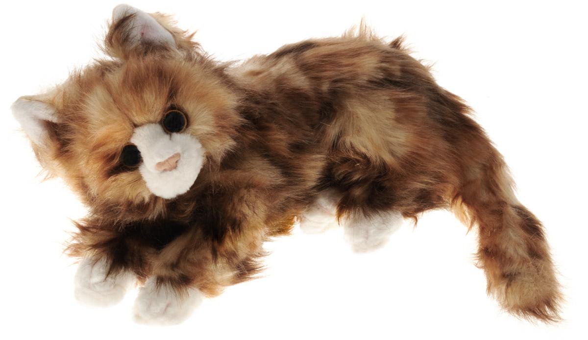 TY Мягкая игрушка Кошка Jumbles цвет коричневый 33 см10039Мягкая игрушка TY Кошка Jumbles не оставит вас равнодушным и вызовет улыбку у каждого, кто ее увидит. Изделие изготовлено из приятных на ощупь и очень мягких материалов, безвредных для малыша. Игрушка выполнена в виде милой кошечки в лежачем положении. Специальные гранулы, используемые при ее набивке, способствуют развитию мелкой моторики рук малыша. Симпатичная игрушка, которая неизменно будет радовать вашего ребенка, а также способствовать полноценному и гармоничному развитию его личности.