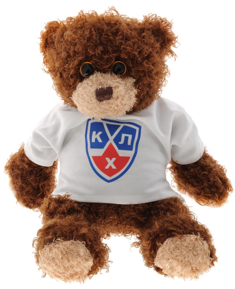 TY Мягкая игрушка Медвежонок-хоккеист в футболке цвет коричневый 22 см50061KHLМягкая игрушка TY Медвежонок-хоккеист в футболке станет лучшим другом для юного поклонника хоккея. Игрушка выполнена в виде медведя, одетого в белую футболку с надписью КХЛ. Игрушка изготовлена из безопасных, приятных на ощупь текстильных материалов. Глазки и нос игрушки выполнены из пластика. Пластиковые гранулы, используемые при набивке игрушки, способствуют развитию мелкой моторики рук ребенка. Удивительно мягкая игрушка принесет радость и подарит своему обладателю мгновения нежных объятий и приятных воспоминаний.