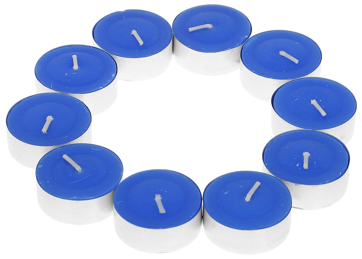 Набор ароматизированных свечей Lunten Ranta, цвет: синий, диаметр 3,5 см, 10 шт54287_3Набор Lunten Ranta, выполненный из парафина, состоит из 10 круглых ароматизированных свечей. Изделия порадуют вас своим дизайном и приятным ароматом. Такой набор может стать отличным подарком или дополнить интерьер вашей комнаты.