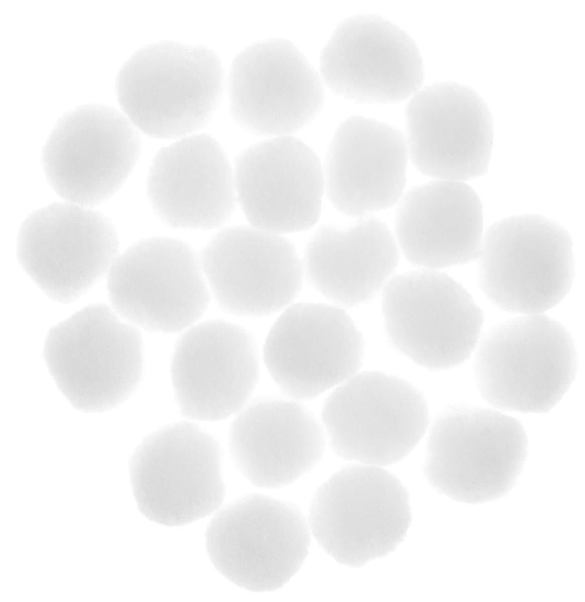 Декоративное украшение Lunten Ranta Снежки, диаметр 3 см, 25 шт67794Декоративные украшения Lunten Ranta Снежки отлично подойдут для декорации вашего дома в преддверии Нового года. В наборе - 25 украшений, выполненных из полиэстера в виде маленьких комочков снега. Создайте в своем доме атмосферу веселья и радости, оформляя всей семьей комнату украшениями, которые будут из года в год накапливать теплоту воспоминаний.