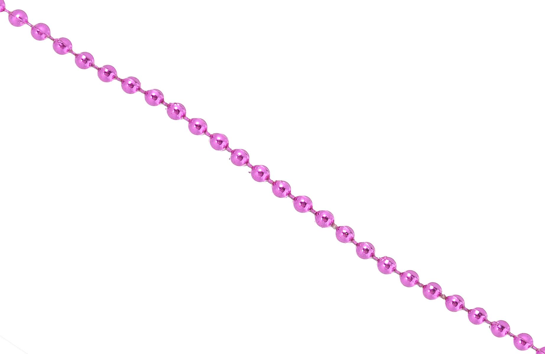 Новогодняя гирлянда Lunten Ranta Градинки, цвет: фуксия, длина 2 м65688Новогодняя гирлянда Lunten Ranta Градинки отлично подойдет для декорации вашего дома и новогодней ели. Изделие, выполненное из пластика, представляет собой гирлянду на текстильной нити, на которой нанизаны круглые бусины. Новогодние украшения несут в себе волшебство и красоту праздника. Они помогут вам украсить дом к предстоящим праздникам и оживить интерьер по вашему вкусу. Создайте в доме атмосферу тепла, веселья и радости, украшая его всей семьей. Диаметр бусины: 0,4 см.