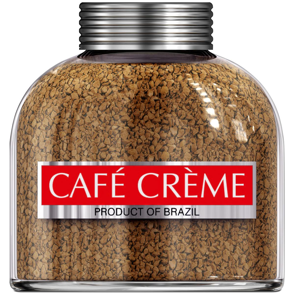 Cafe Creme Original кофе растворимый, 200 г4607141332180Cafe Creme Origina идеален для приготовления Кафе де манья- завтрака по-бразильски, состоящего из одной чашечки очень горячего и очень крепкого кофе. Добавив две чайные ложечки меда и лимонный сок по вкусу, и можно наслаждаться легендарным напитком здоровья и долголетия, укрепляющим иммунитет. Именно его употребляют в течение дня жители Эспирито-Санто, горной местности на юго -востоке Бразилии, где произрастает один из лучших сортов бразильской арабики.