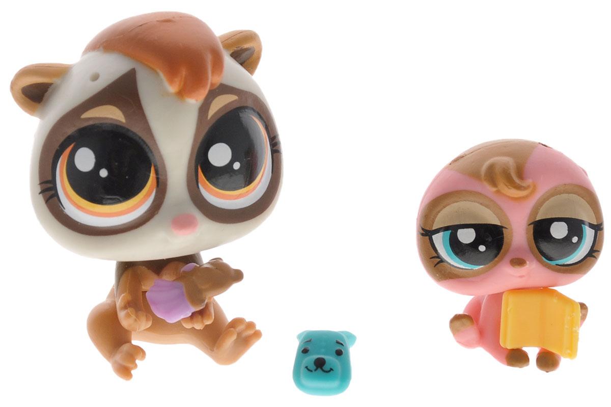 Littlest Pet Shop Набор фигурок Dolores Loris & Sylvana Brady