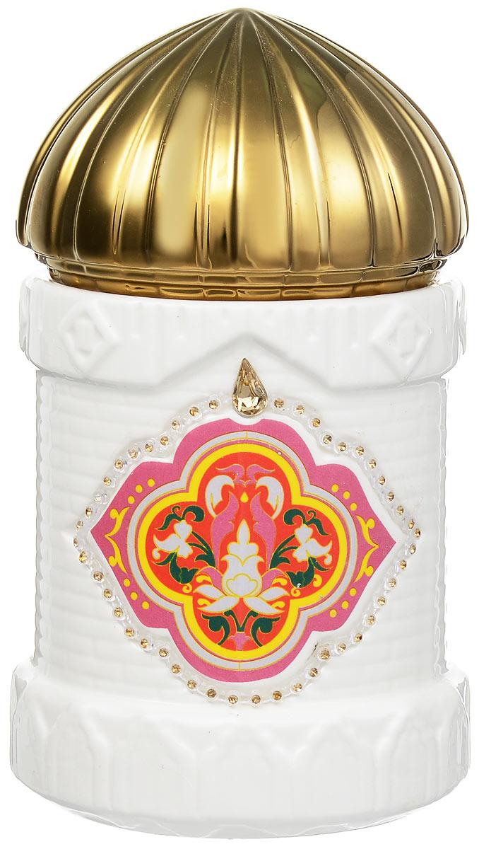 Hilltop Королевское золото черный листовой чай в чайнице Восточное созвездие, 100 г4607099306189Hilltop Королевское золото - крупнолистовой терпкий черный чай стандарта Супер Пеко с лучших плантаций острова Цейлон. Помимо этого великолепного чая, в комплекте вы найдете керамическую чайницу Восточное созвездие.
