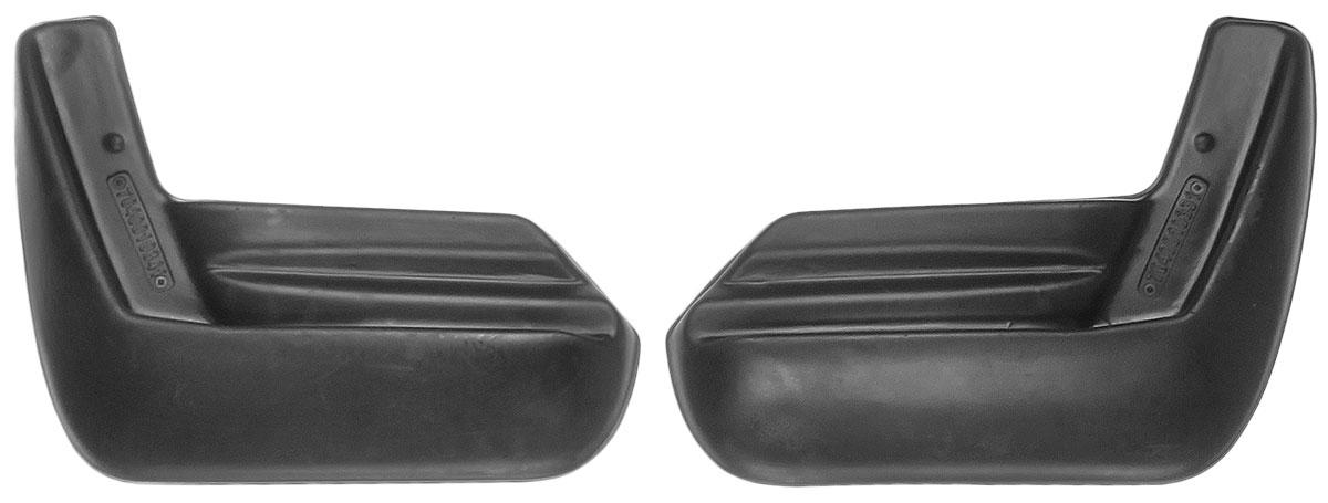 Комплект задних брызговиков L.Locker, для Subaru Forester IV (2012-), 2 шт7040010361Комплект L.Locker состоит из 2 задних брызговиков, изготовленных из высококачественного полиуретана. Уникальный состав брызговиков допускает их эксплуатацию в широком диапазоне температур: от -50°С до +50°С. Изделия эффективно защищают кузов автомобиля от грязи и воды, формируют аэродинамический поток воздуха, создаваемый при движении вокруг кузова таким образом, чтобы максимально уменьшить образование грязевой измороси, оседающей на автомобиле. Разработаны индивидуально для каждой модели автомобиля. С эстетической точки зрения брызговики являются завершением колесных арок. Установка брызговиков достаточно быстрая. В комплект входят необходимые крепежи и инструкция на русском языке. Комплект подходит для моделей с 2012 года выпуска. Комплектация: 2 шт. Размер брызговика: 27 см х 22 см х 3,5 см.