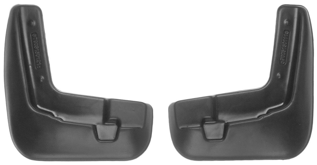 Комплект передних брызговиков L.Locker, для Nissan Sentra VII (B17) (12-), 2 шт7005150151Комплект L.Locker состоит из 2 передних брызговиков, изготовленных из высококачественного полиуретана. Уникальный состав брызговиков допускает их эксплуатацию в широком диапазоне температур: от -50°С до +50°С. Изделия эффективно защищают кузов автомобиля от грязи и воды, формируют аэродинамический поток воздуха, создаваемый при движении вокруг кузова таким образом, чтобы максимально уменьшить образование грязевой измороси, оседающей на автомобиле. Разработаны индивидуально для каждой модели автомобиля. С эстетической точки зрения брызговики являются завершением колесных арок. Установка брызговиков достаточно быстрая. В комплект входят необходимые крепежи и инструкция на русском языке. Комплект подходит для моделей с 2012 года выпуска. Комплектация: 2 шт. Размер брызговика: 22 см х 25 см х 3 см.
