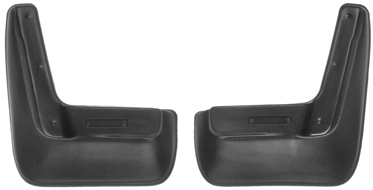 Комплект задних брызговиков L.Locker, для Nissan Almera IV (13-), 2 шт7005012361Комплект L.Locker состоит из 2 задних брызговиков, изготовленных из высококачественного полиуретана. Уникальный состав брызговиков допускает их эксплуатацию в широком диапазоне температур: от -50°С до +50°С. Изделия эффективно защищают кузов автомобиля от грязи и воды, формируют аэродинамический поток воздуха, создаваемый при движении вокруг кузова таким образом, чтобы максимально уменьшить образование грязевой измороси, оседающей на автомобиле. Разработаны индивидуально для каждой модели автомобиля. С эстетической точки зрения брызговики являются завершением колесных арок. Установка брызговиков достаточно быстрая. В комплект входят необходимые крепежи и инструкция на русском языке. Комплект подходит для моделей с 2013 года выпуска. Комплектация: 2 шт. Размер брызговика: 23 см х 25 см х 4 см.