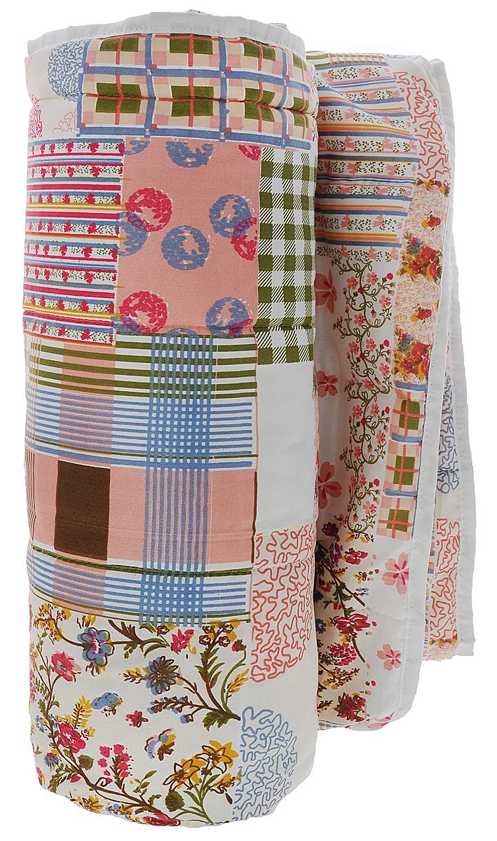 Одеяло летнее OL-Tex Miotex, наполнитель: полиэфирное волокно Holfiteks, цвет: белый, розовый, 140 х 205 смМХПЭ-15-1_квадраты с разноцветными рисункамиЛегкое летнее одеяло OL-Tex Miotex создаст комфорт и уют во время сна. Чехол выполнен из полиэстера и оформлен красочным цветочным рисунком. Внутри - современный наполнитель из полиэфирного высокосиликонизированного волокна холфитекс, упругий и качественный. Прекрасно держит тепло. Одеяло с наполнителем холфитекс легкое и комфортное. Даже после многократных стирок не теряет свою форму, наполнитель не сбивается, так как одеяло простегано и окантовано. Рекомендации по уходу: - Ручная и машинная стирка при температуре 30°С. - Не гладить. - Не отбеливать. - Нельзя отжимать и сушить в стиральной машине. - Сушить вертикально. Размер одеяла: 140 см х 205 см. Материал чехла: 100% полиэстер. Материал наполнителя: холфитекс.