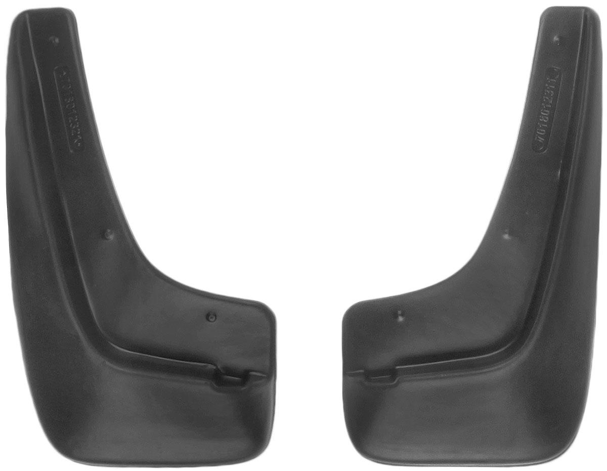 Комплект передних брызговиков L.Locker SsangYong Action 2011, 2 шт7018012351Комплект L.Locker SsangYong Action 2011 состоит из 2 передних брызговиков, изготовленных из высококачественного полиуретана. Уникальный состав брызговиков допускает их эксплуатацию в широком диапазоне температур: от -50°С до +50°С. Изделия эффективно защищают кузов автомобиля от грязи и воды, формируют аэродинамический поток воздуха, создаваемый при движении вокруг кузова таким образом, чтобы максимально уменьшить образование грязевой измороси, оседающей на автомобиле. Разработаны индивидуально для каждой модели автомобиля. С эстетической точки зрения брызговики являются завершением колесных арок. Установка брызговиков достаточно быстрая. В комплект входит инструкция на русском языке. Комплектация: 2 шт. Размер брызговика: 32 см х 18 см х 3 см.