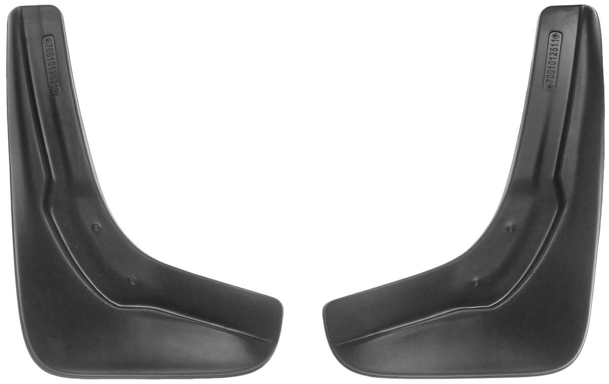 """Комплект передних брызговиков L. Locker """"Volkswagen Passat B7 2011"""", 2 шт"""