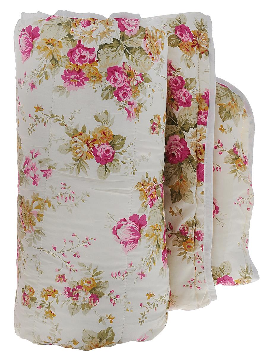 Одеяло облегченное OL-Tex Miotex, наполнитель: холфитекс, цвет: бежевый, оливковый, розовый, 200 см х 220 смМХПЭ-22-2_ бежевый, розовые цветыЧехол облегченного одеяла OL-Tex Miotex выполнен из высококачественного полиэстера. Наполнитель - холфитекс. Одеяло простегано - значит, наполнитель внутри будет всегда распределен равномерно. Изделие оформлено ярким рисунком. Идеально подойдет тем, кто ценит мягкость и тепло. Ручная стирка при температуре 30°С. Материал чехла: 100% полиэстер. Наполнитель: холфитекс.