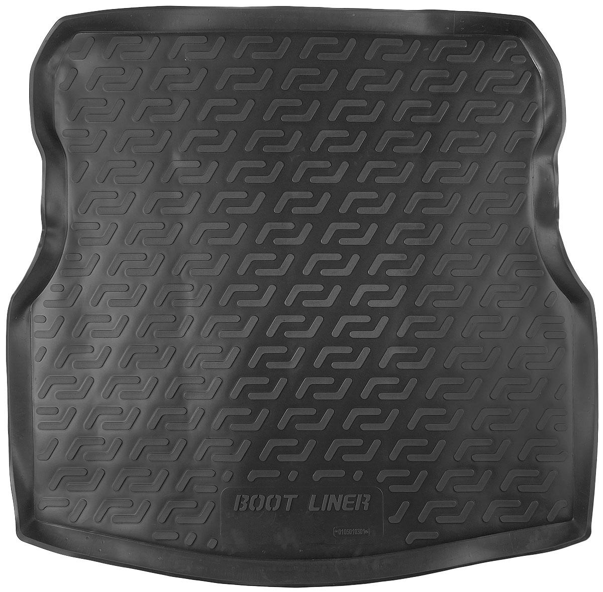 Коврик в багажник L.Locker, для Nissan Almera IV sd (13-)0105010301Коврик L.Locker производится индивидуально для каждой модели автомобиля из современного и экологически чистого материала. Изделие точно повторяет геометрию пола автомобиля, имеет высокий борт, обладает повышенной износоустойчивостью, антискользящими свойствами, лишен резкого запаха и сохраняет свои потребительские свойства в широком диапазоне температур (от -50°С до +80°С).