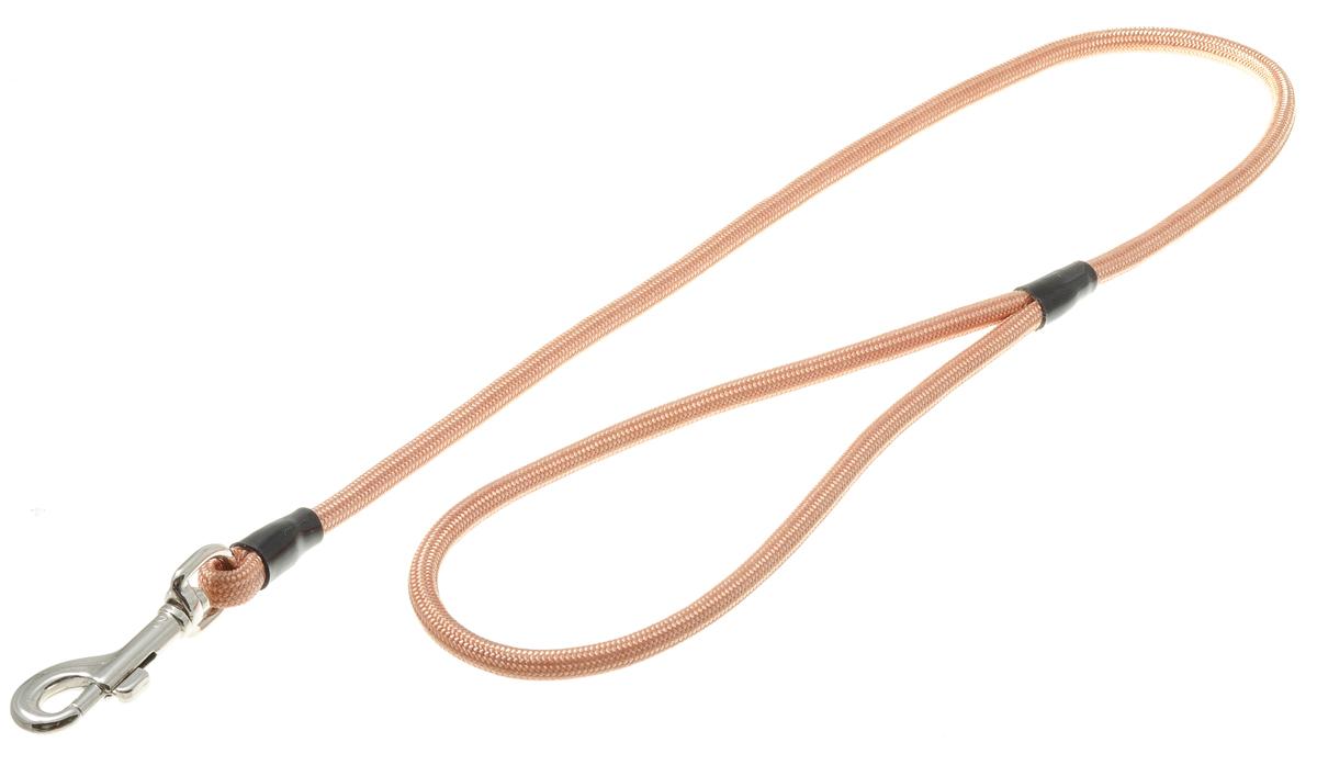 Поводок с карабином круглый 6 мм*70 см (медь) 73-089073-0890