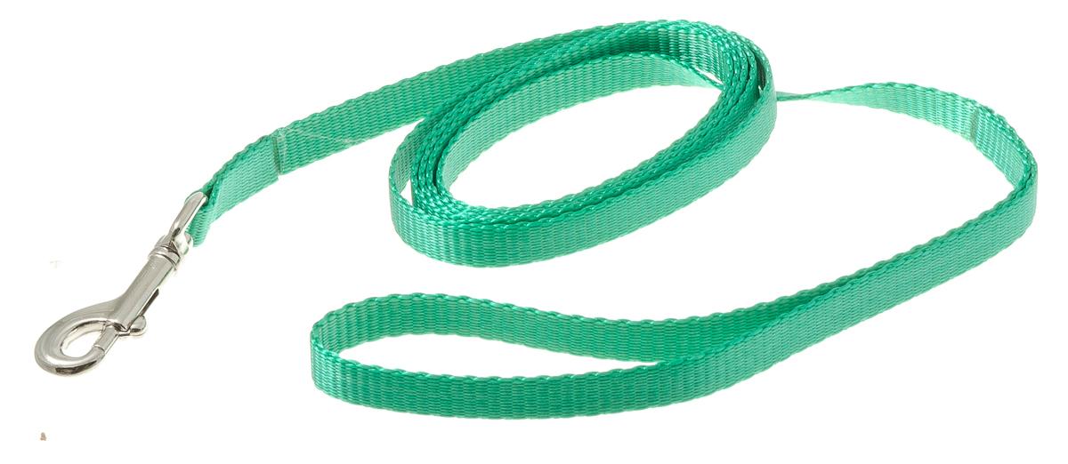 Поводок с карабином лента 10 мм*2 м (зеленый) 73-093273-0932