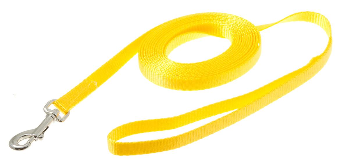 Поводок с карабином лента 10 мм*3 м (золотой) 73-094073-0940