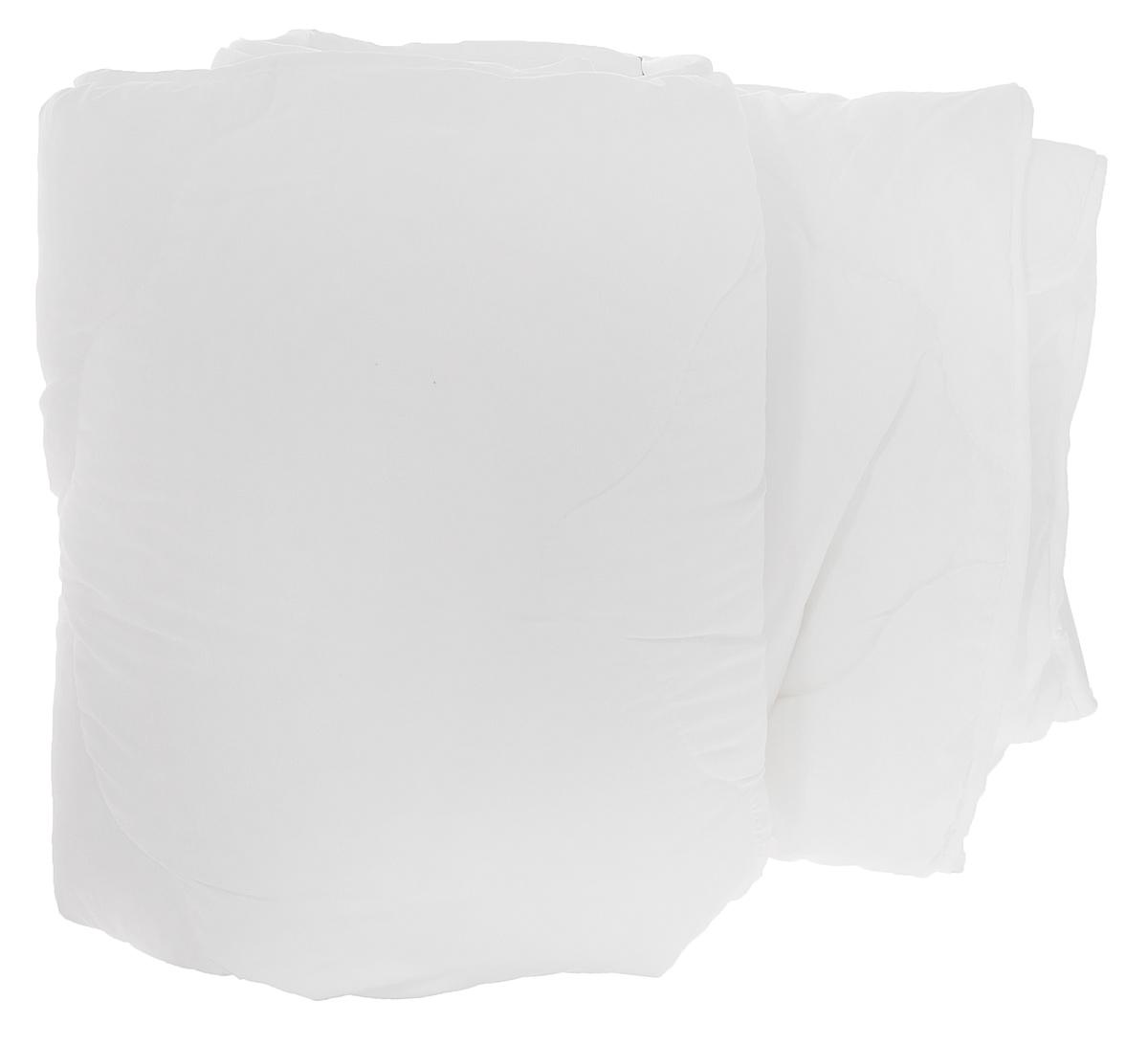 Одеяло Dargez Бомбей, легкое, наполнитель: бамбуковое волокно, цвет: белый, 172 см х 205 см20(23)341_белыйОдеяло Dargez Бомбей подарит комфорт и уют во время сна. Чехол одеяла, выполненный из микрофибры и оформлен фигурной стежкой, которая надежно удерживает наполнитель внутри. Волокно на основе бамбука - инновационный наполнитель, обладающий за счет своей пористой структуры хорошей воздухонепроницаемостью и высокой гигроскопичностью, обеспечивает оптимальный уровень влажности во время сна и создает чувство прохлады в жаркие дни. Антибактериальный эффект наполнителя достигается за счет содержания в нем специального компонента, а также за счет поглощения влаги, что создает сухой микроклимат, препятствующий росту бактерий. Основные свойства волокна: - хорошая терморегуляция; - свободная циркуляция воздуха; - антибактериальные свойства; - повышенная гигроскопичность; - мягкость и легкость; - удобство в эксплуатации и легкость стирки. Рекомендации по уходу: - Стирка при температуре не более 40°С. -...