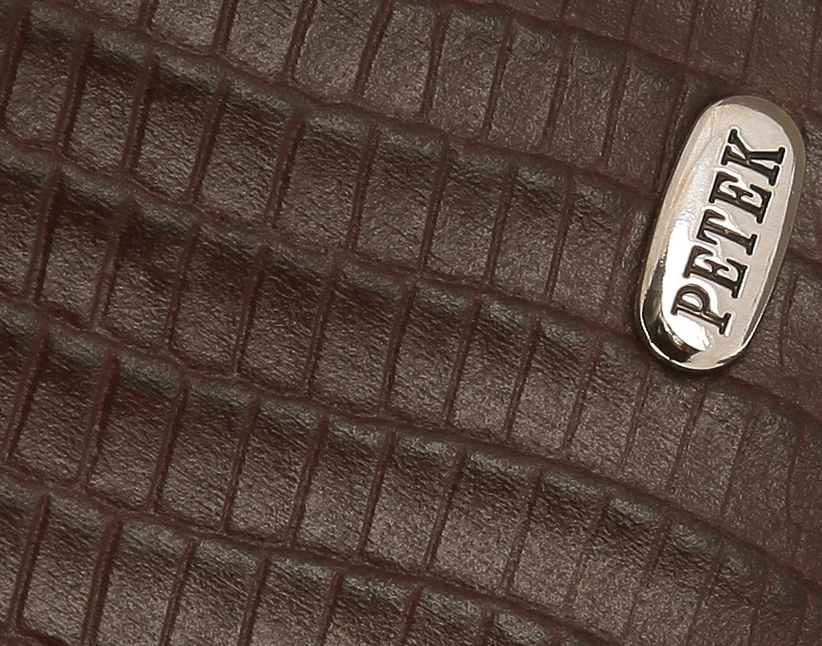 Портмоне мужское Petek 1855, цвет: коричневый. 140. 041. 02