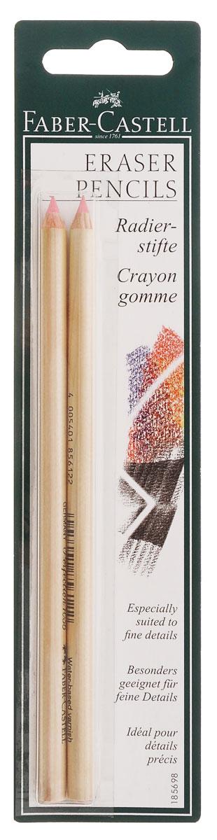 Faber-Castell Корректор-карандаш Perfection 7056 2 шт185698Корректирующие карандаши Faber-Castell серии Perfaction отлично подходят для точного стирания мелких деталей. Корректор-карандаш Faber-Castell Perfection 7056 легко справляется с любыми следами графитовых и цветных карандашей. Правильный подбор корректора и, разумеется, его качество имеет решающее значения для достижения нужного результата. Для производства корректоров в основном используются два материала: каучук и пластик (винил). Корректирующие карандаши Faber-Castell серии Perfaction производятся без использования поливинилхлорида и не содержат вредных для здоровья дополнительных размягчителей. Тем не менее, благодаря сбалансированному сочетанию компонентов, все корректоры Faber-Castell стирают мягко, не размазывая при этом карандаш или чернила. В комплект входят 2 корректора-карандаша.