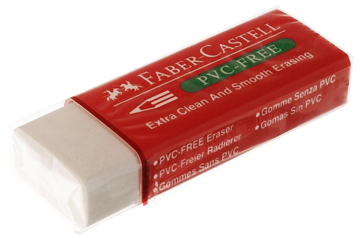 Faber-Castell Ластик термический263399Термический ластик Faber-Castell из термопластического материала в красной защитной упаковке не содержит ПВХ, пригоден для графитных простых и цветных карандашей. Размеры ластика: 6 см х 2 см х 1 см.