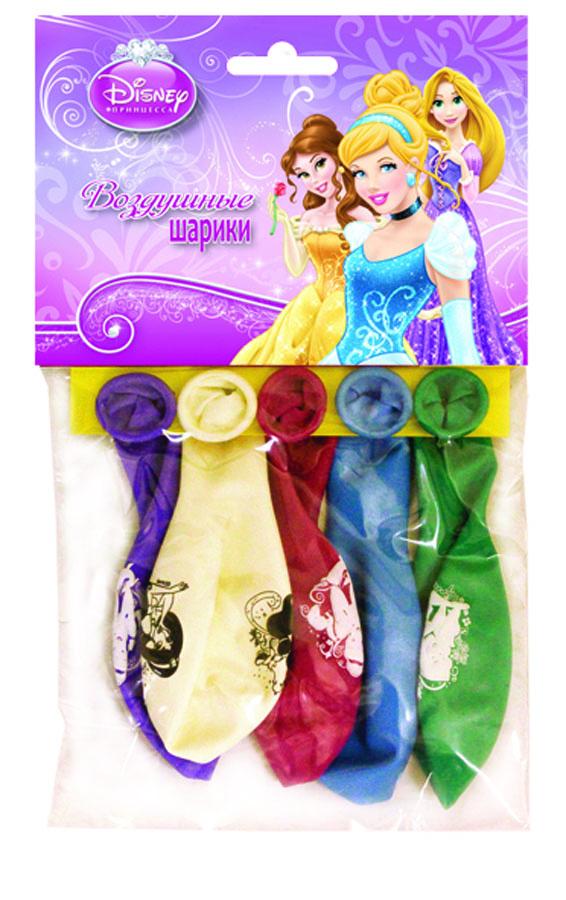Веселая затея Набор воздушных шаров Принцессы 5 шт1111-0281Набор воздушных шаров Веселая затея включает в себя 5 шариков с изображениями принцесс Диснея. Воздушные шарики помогут украсить место вашего праздника, праздничный стол или стать достойной наградой за победу в конкурсе. Эти яркие праздничные аксессуары поднимут настроение вам и вашим гостям!