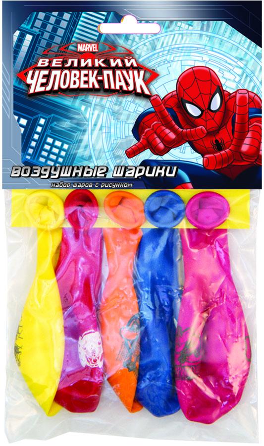 Набор шаров рис Marvel Чел Паук 30см 5шт1111-0330