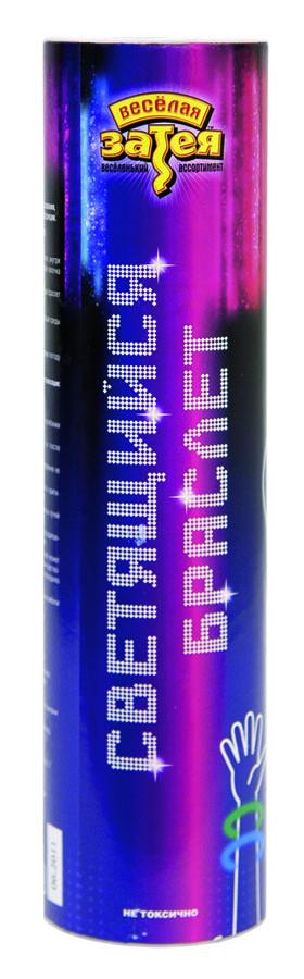 Светящийся браслет 20см ассорти 50шт1501-1203