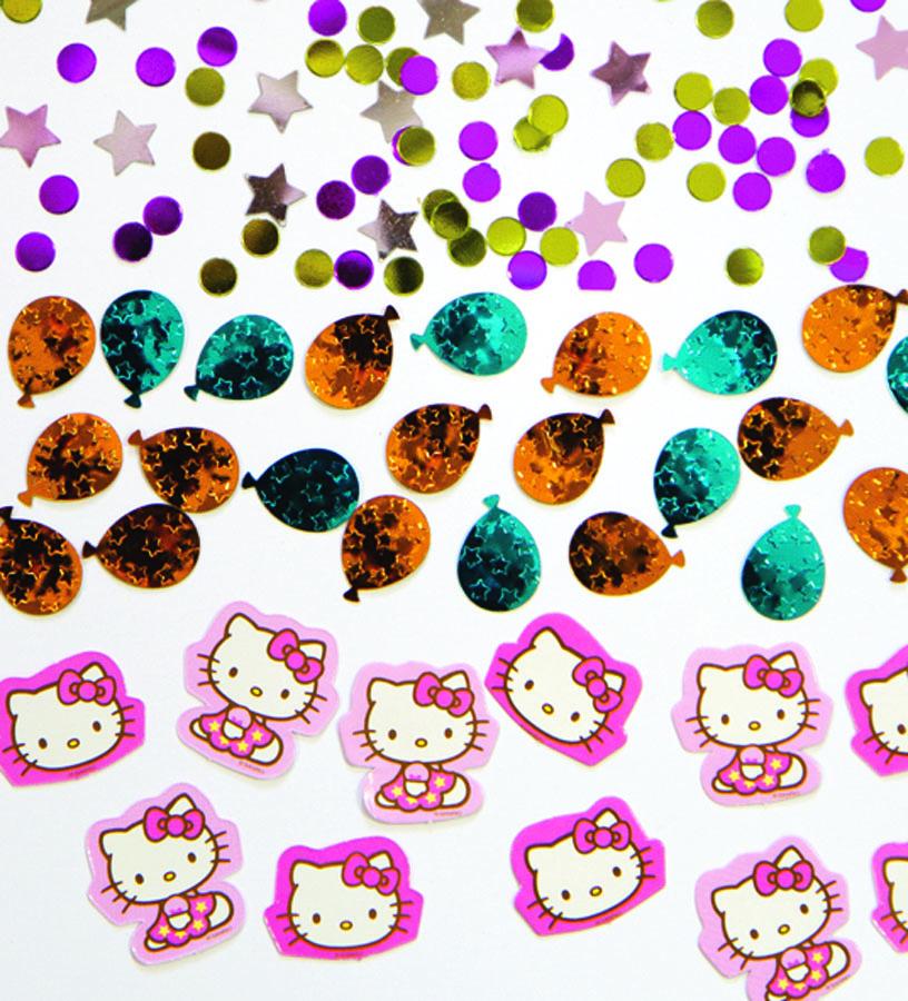 Конфетти Hello Kitty 3 вида 34гр/A1501-1511