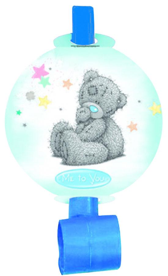 Веселая затея Язык-гудок с карточкой Me to You 8 шт1501-1612Язык-гудок Веселая затея при использовании разворачивает длинную часть из бумаги, издавая характерный громкий звук. Игрушка дополнена круглой карточкой с изображением Мишки Тедди. Красочные гудки с разворачивающимися язычками - это не просто источник веселого шума. По древним поверьям свистульки отпугивали злых духов и вызывали добрых. В языческие заклинания уже давно никто не верит, но почему бы не добавить элемент волшебства на своей вечеринке, раздав друзьям разноцветные языки-гудки.