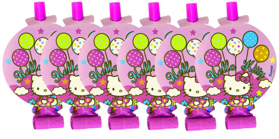 Веселая затея Язык-гудок с карточкой Hello Kitty 8 шт1501-1615Язык-гудок Веселая затея при использовании разворачивает длинную часть из бумаги, издавая характерный громкий звук. Игрушка дополнена круглой карточкой с изображением кошечки Китти. Красочные гудки с разворачивающимися язычками - это не просто источник веселого шума. По древним поверьям свистульки отпугивали злых духов и вызывали добрых. В языческие заклинания уже давно никто не верит, но почему бы не добавить элемент волшебства на своей вечеринке, раздав друзьям разноцветные языки-гудки.