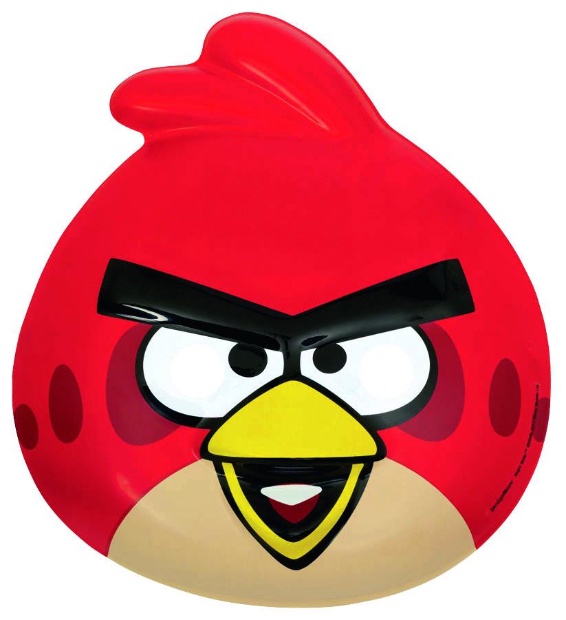 Amscan Маска карнавальная Angry Birds1501-1698Маска карнавальная Angry Birds оживит любой детский праздник и не позволит детишкам заскучать. Пластиковая маска позволит быстро преобразиться в любимого мультипликационного персонажа. Пластиковая маска Красной Птицы с прорезями для глаз и носа - отличное дополнение вечеринки в стиле Злых Птиц. Такая маска больше к лицу детям, однако, если вас не будет смущать торчащий из-под нее подбородок, то и взрослому она подойдет. Маска снабжена резинкой, чтобы вы не потеряли ее в бою со свиньями. Маска Angry Birds является отличным решением для карнавалов, утренников и просто детских праздников.