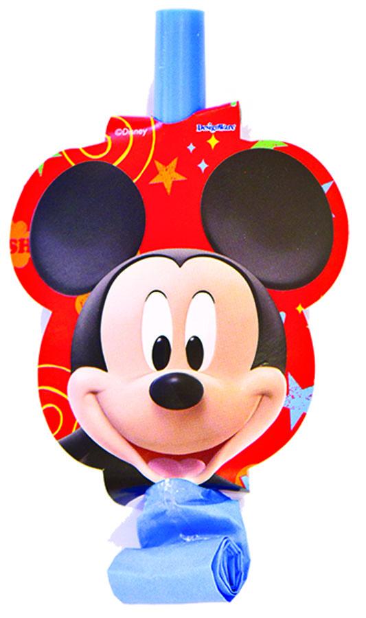 Веселая затея Язык-гудок с карточкой Микки Маус 8 шт1501-1715Язык-гудок Веселая затея при использовании разворачивает длинную часть из бумаги, издавая характерный громкий звук. Каждый язычок украшен довольной мордочкой Микки Мауса. Красочные гудки с разворачивающимися язычками - это не просто источник веселого шума. По древним поверьям свистульки отпугивали злых духов и вызывали добрых. В языческие заклинания уже давно никто не верит, но почему бы не добавить элемент волшебства на своей вечеринке, раздав друзьям разноцветные языки-гудки.