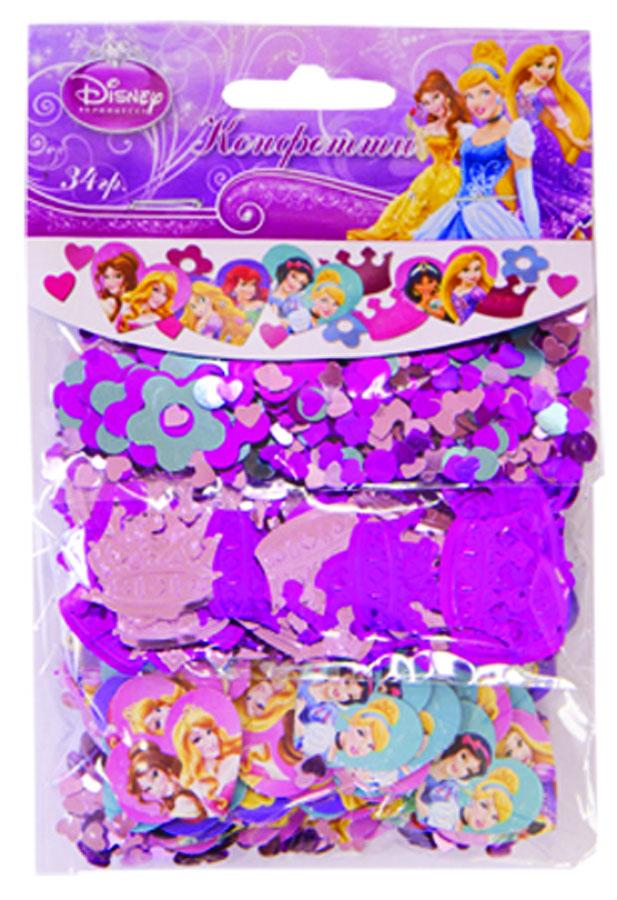 Веселая затея Конфетти Принцессы Disney 3 вида1501-1737Конфетти Принцессы Disney представлено в трех дизайнах: сердечки и цветы; короны цвета фуксии и розовые; бумажные сердца с изображениями принцесс. Конфетти, рассыпанное на столе, является необычной и привлекательной формой украшения праздничного застолья. Еще один оригинальный способ порадовать друзей и близких - насыпьте конфетти в конверт с открыткой - это будет неожиданный сюрприз! Конфетти - прекрасный материал для рукоделия.