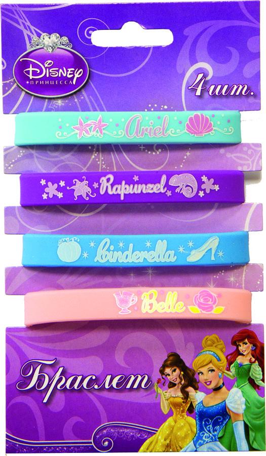 Браслет Disney Принцессы 4шт/A1501-1749