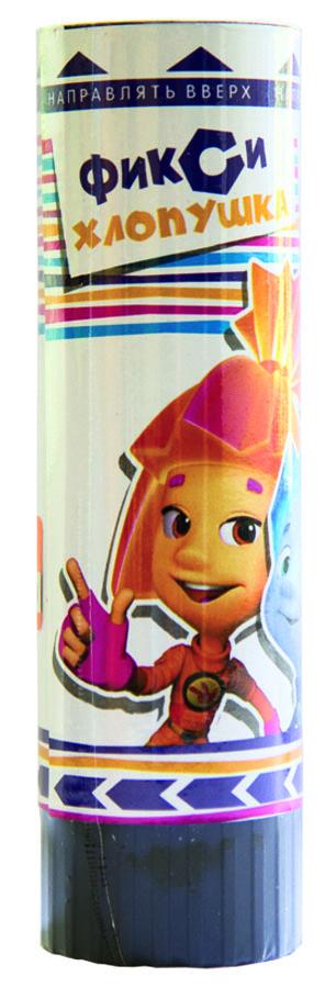 Веселая затея Пружинная хлопушка Фиксики 16 см1501-1821Пружинная хлопушка Веселая затея Фиксики добавит вашему празднику шума и веселья. Стоит только повернуть основание хлопушки, как раздастся громкий хлопок и выброс красочного конфетти. Хлопушка, идеально подходящая для домашнего салюта, наполнена разноцветной бумагой и серпантином. Выстрел осуществляется благодаря сжатой пружине. Внесите нотку задора и веселья в ваш праздник. Отличное настроение и масса положительных эмоций вам будут обеспечены!