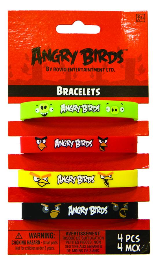 Браслет Angry Birds 4шт/А1501-1943