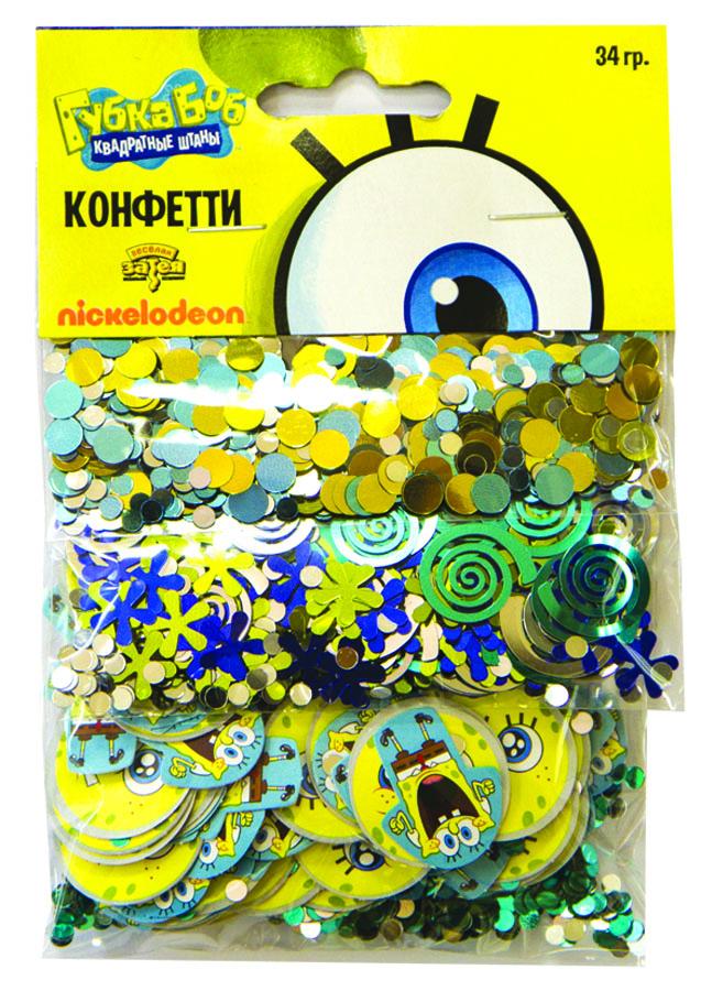 Веселая затея Конфетти Губка Боб 3 вида1501-1976Конфетти Губка Боб представлено в трех дизайнах: цветные голубые, серебряные и золотые круги; синие, серебряные, салатовые спирали и морские звездочки; бумажные двусторонние фишки со Спанч Бобом и маленькие блестящие круги. Конфетти, рассыпанное на столе, является необычной и привлекательной формой украшения праздничного застолья. Еще один оригинальный способ порадовать друзей и близких - насыпьте конфетти в конверт с открыткой - это будет неожиданный сюрприз! Конфетти - прекрасный материал для рукоделия.