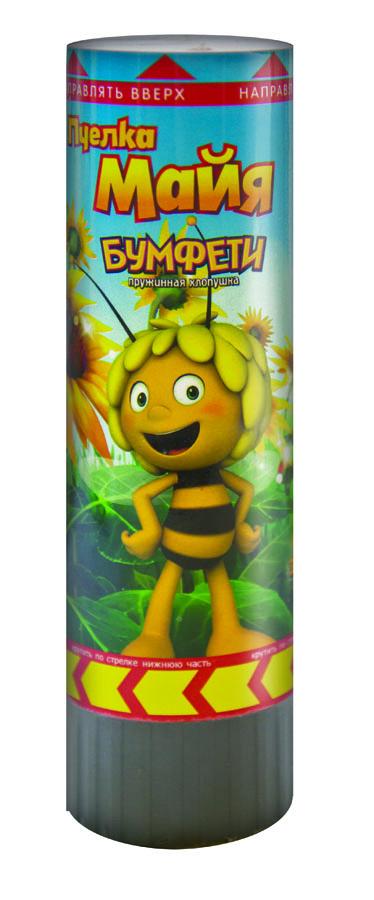 Хлопушка Пчелка Майя 16см пружинная