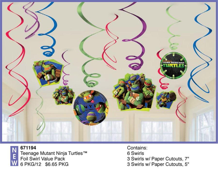 Спираль Черепашки-Ниндзя 46-60см 12шт/A1501-2039