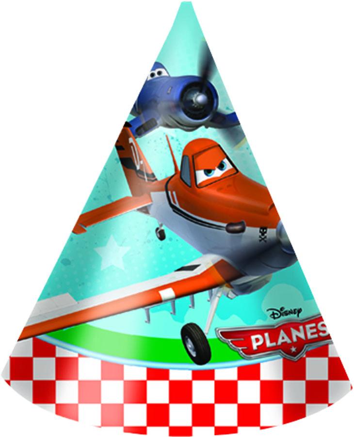 Колпак Самолеты 6шт/Р1501-2049